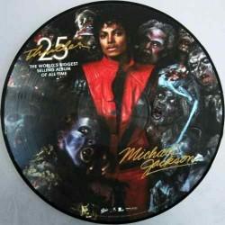 MJ THRILLER 25 LP PICTURE