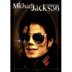 MJ UNOFFICIAL 2007 CALENDAR + STICKERS