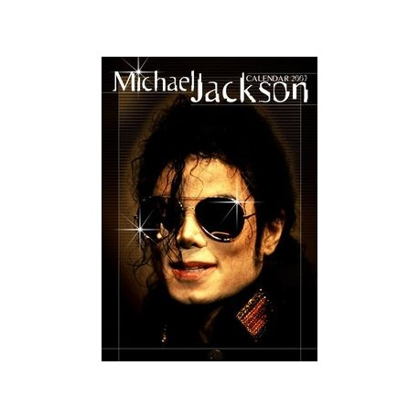 MJ UNOFFICIAL 2007 CALENDAR + STICKERS