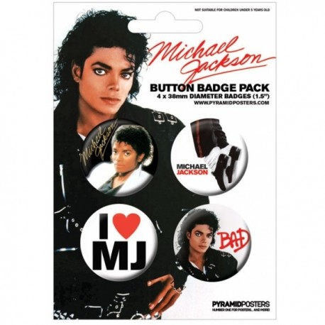 MJ BAD BADGE PACK