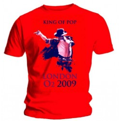 MJ OFFICIAL LONDON O2 ARENA T-SHIRT