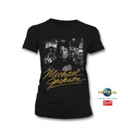 MJ MICHAEL OFFICIAL WOMAN T-SHIRT