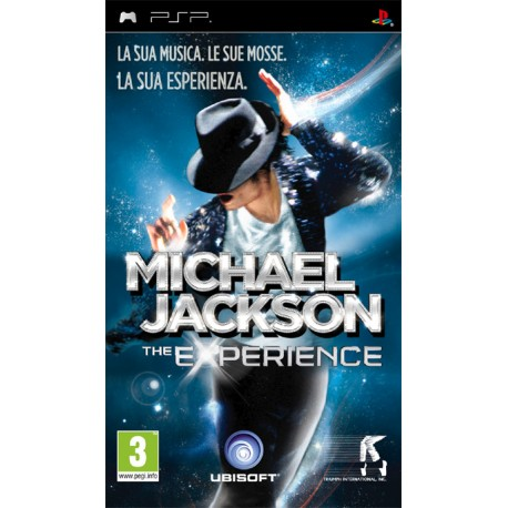 MJ THE EXPERIENCE PSP