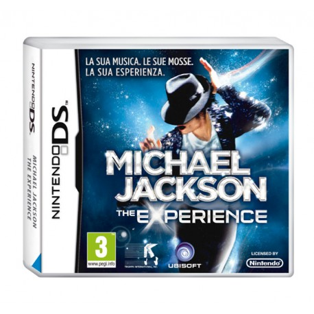 MJ THE EXPERIENCE NINTENDO DS