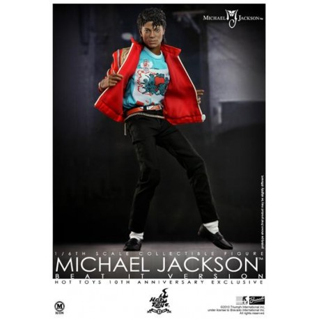 MJ BEAT IT FIGURE (HOT TOYS LIMITED EDITION)