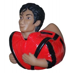 MJ OFFICIAL THRILLER RUBBER DUCK