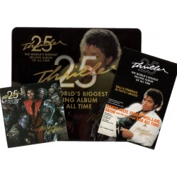 MJ OFFICIAL THRILLER 25 PROMO SET