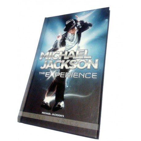 MJ THE EXPERIENCE SONG LYRICS BOOKLET (PROMO)