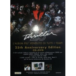 MJ THRILLER 25 PROMO STANDUP
