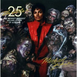 MJ OFFICIAL PROMO MAGNET THRILLER 25