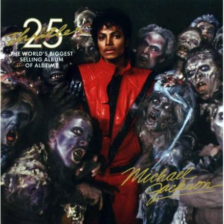 MJ OFFICIAL PROMO MAGNET THRILLER 25