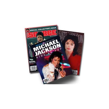 MJ MAGAZINES 3 SET