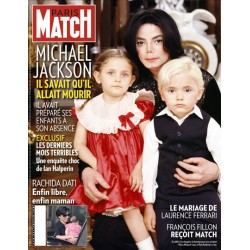 MJ PARIS MATCH MAGAZINE