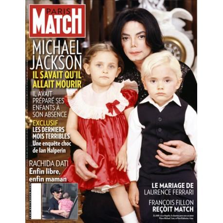 MJ PARIS MATCH MAGAZINE
