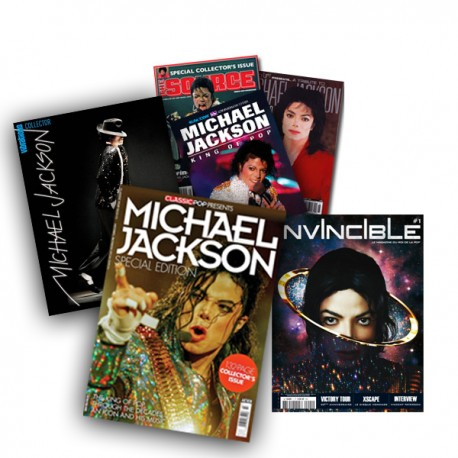 MJ 6 COLLECTOR MAGAZINES SET