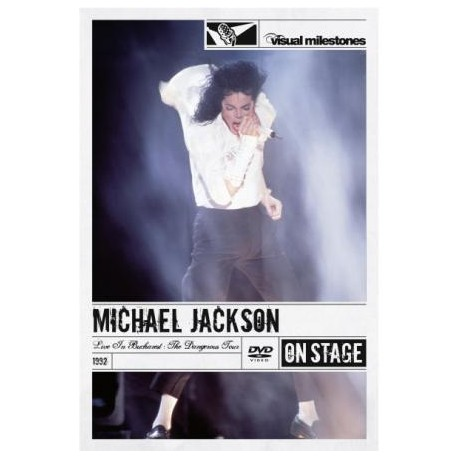 MJ LIVE IN BUCHAREST DVD