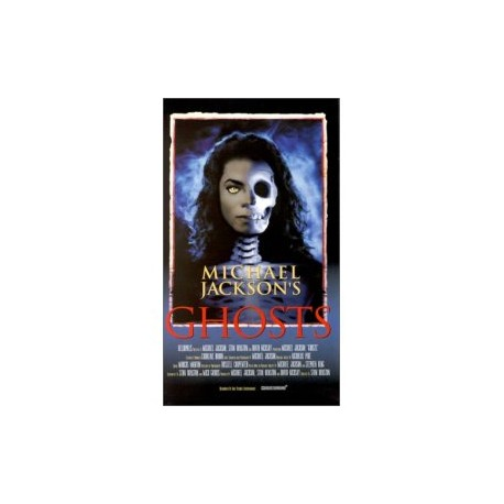 MJ GHOSTS VHS