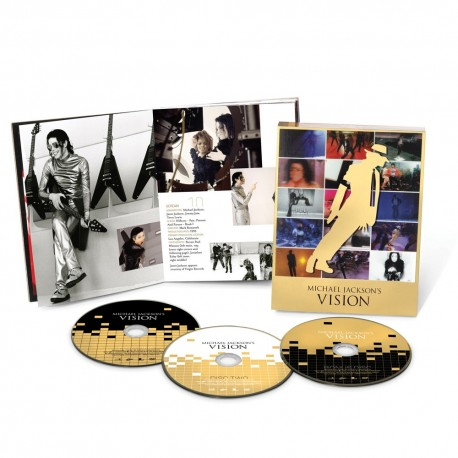 MJ VISION BOXSET (3DVD+BOOKLET)