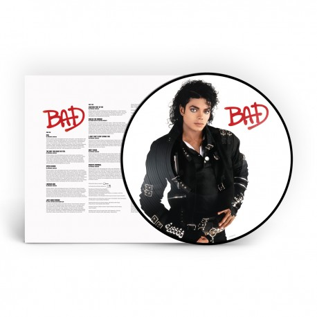 MJ BAD PICTURE DISC