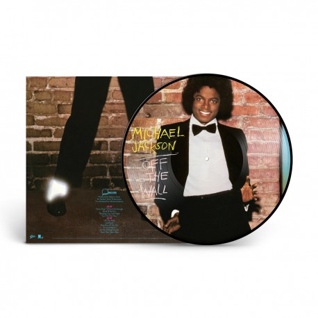 MJ OFF THE WALL PICTURE DISC
