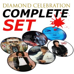 MJ DIAMOND CELEBRATION PICTURE DISC SET