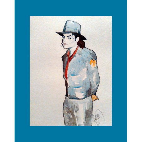 MJ STANDUP WITH HAT