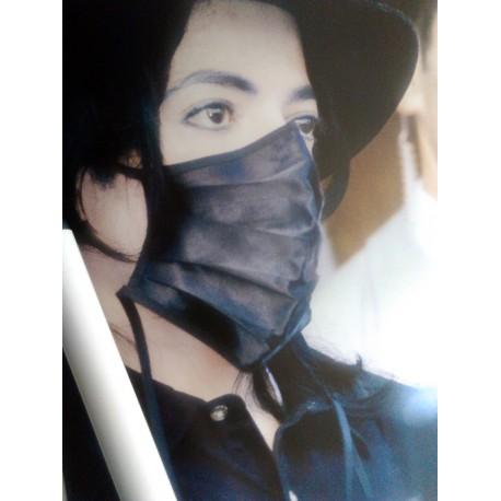 MJ Music Art Mask Poster
