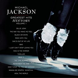 MICHAEL JACKSON GREATEST HITS HISTORY VOL I