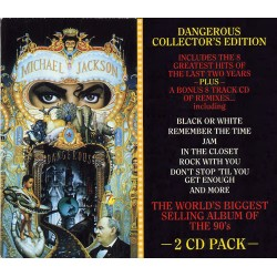 MJ DANGEROUS COLLECTOR'S EDITION 2CD
