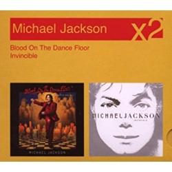 MJ BLOOD ON THE DANCE FLOOR / INVINCIBLE 2CD