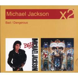 MJ BAD / DANGEROUS 2CD