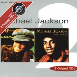 MJ GOT TO BE THERE / FOREVER MICHAEL 2CD