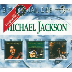 MJ MICHAEL / MUSIC & ME / FOREVER MICHAEL 3CD