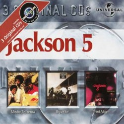 JACKSON FIVE MAYBE TOMORROW / SKYWRITER / THIRD ALBUM 3CD