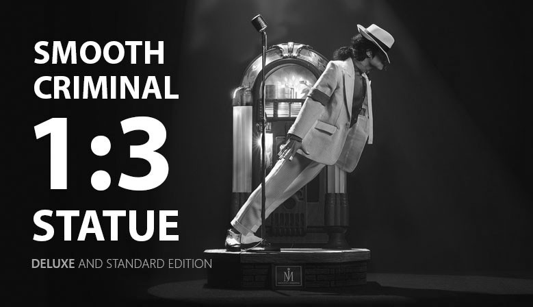 Michael Jackson Official 1:3 Smooth Criminal Statue by PureArts