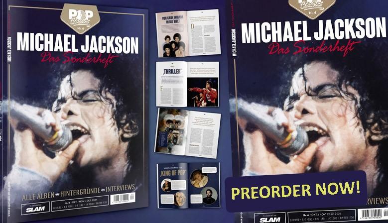 Pop Classics Michael Jackson collector magazine VOL. 4