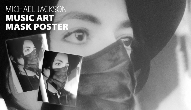 Michael Jackson in Montecarlo Art Poster