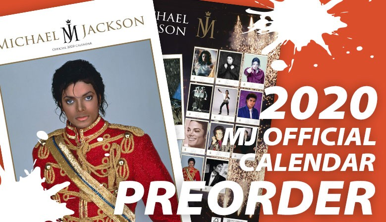 Michael Jackson calendario ufficiale 2020 by Danilo Promotions Ltd.