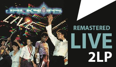 The Jacksons LIVE - 2LP remastered edition 2021